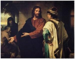 Le Christ et le jeune homme riche