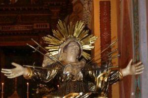 La Vierge au cœur transpercé