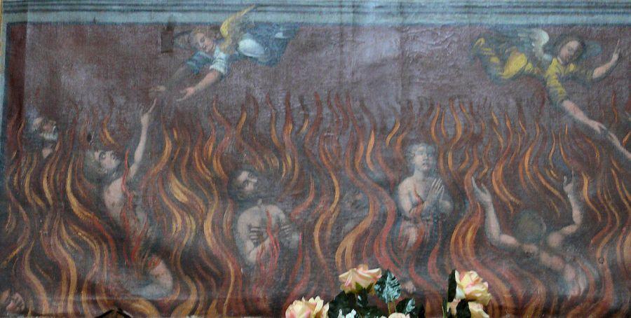 Les anges venant au secours des âmes du Purgatoire - CC MOSSOT