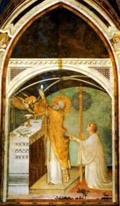 Simone Martini - L'élévation de l'Hostie