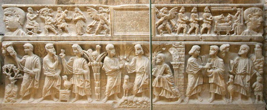 Nativité - Sarcophage des Saints Innocents (ou de St Maximin) - CC Rvalette