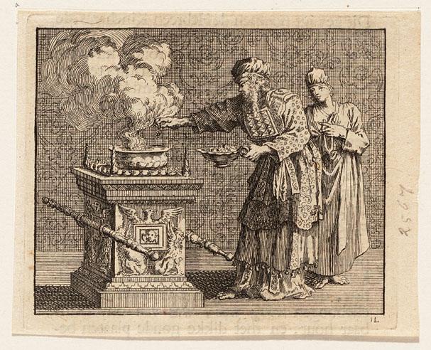 L'autel des parfums dans l'Ancienne Alliance